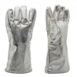 Heat Full Alumunized Fabric Gloves