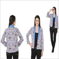 Bedazzle Full Sleeve Solid, Printed Women's Jacket
