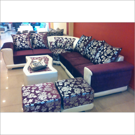 Curved Sectional Sofa Set
