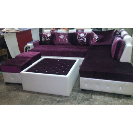 Covered Sofa Set