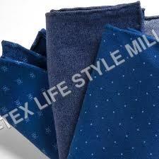 Indigo Shirting Fabric