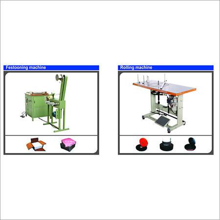 FESTOONING/ROLLING MACHINE