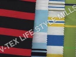 Strip Cotton Shirting Fabric