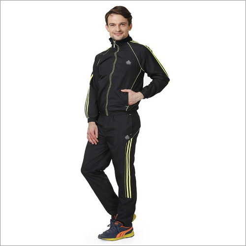 Men's black & green Tracksuit