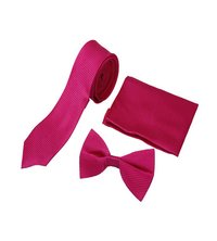 Men casual Pink Tie & bow