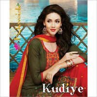 Khwaish Patiala Kudiye Bottom Work Salwar Suits