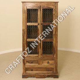 Hardwood Wooden Almirah
