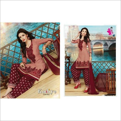 Khwaish Bottom Work Patiala salwar Suits