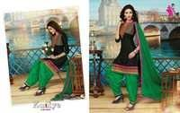 Patiala Kudiye Bottom Work  Salwar Kameez