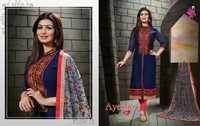 Ayesha Ki Mahek Dupatta Work Salwar Suits