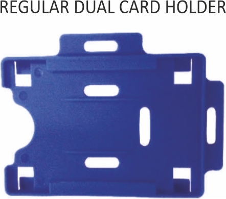 REGULAR DUAL CARD HOLDER