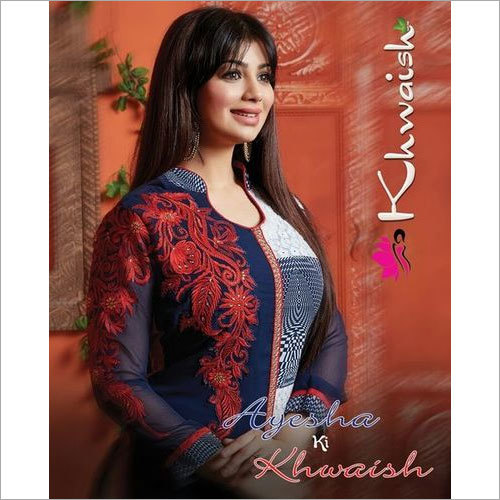 Embroidery Work Wholesale Salwar Suits Jetpur