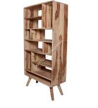 Natural Wood Bookshelf