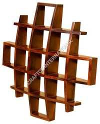 Wooden Display Unit or Wall Shelves