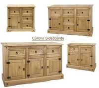 Wooden Colonial SideBoard