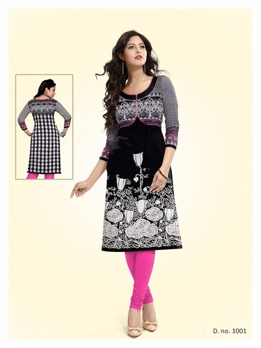 Frooti Kurti's Unstitched Materials Wholesale