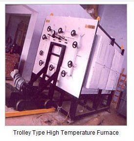 Trolley High Temperature Furnaces