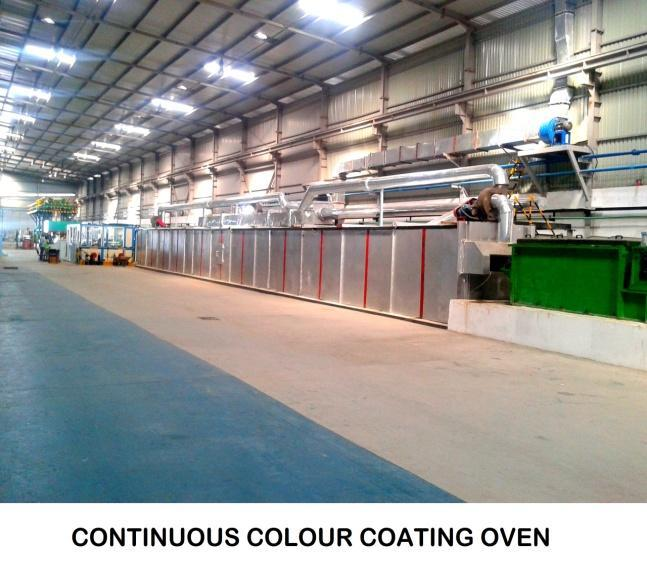 Colour Coating Oven
