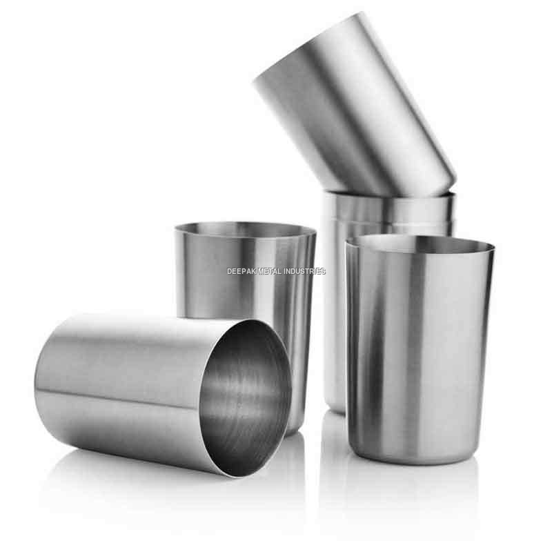 Steel Glass Set