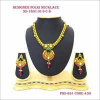 Necklace Set ,Designer Necklace ,polki Necklace set