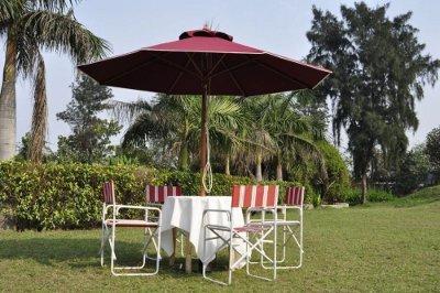 Garden and Poolside Umbrellas