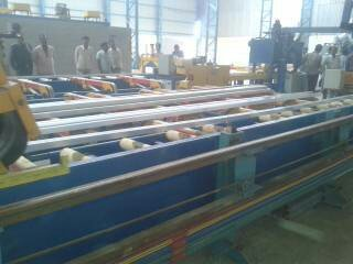 Handling Table for Aluminium Extrusion