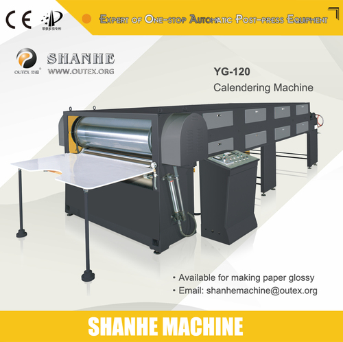 Semi Auto Calendering Machine
