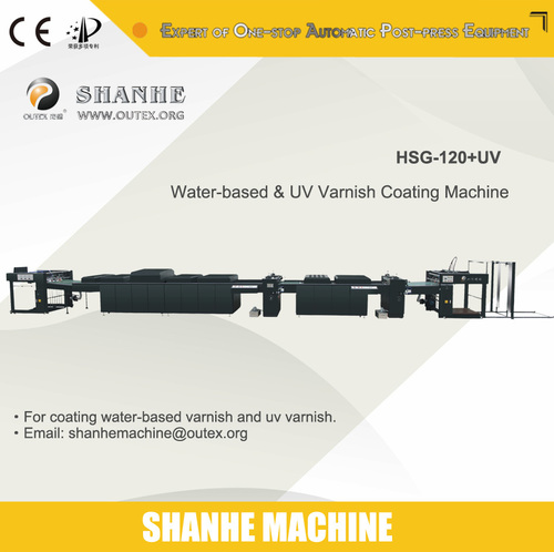 High Speed Auto Varnishing Machine