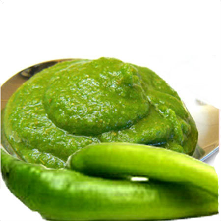 Fresh Green Chilli Paste