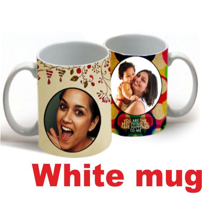 WHITE MUG