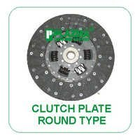 Clutch Plate Round Type Green Tractors