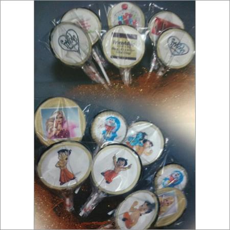 Edible Image Chocolate Lollipop
