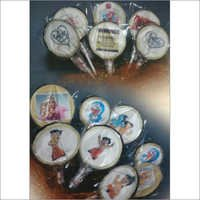 Edible Image Chocolate Lollipop