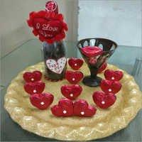 Fresh Chocolate Platter