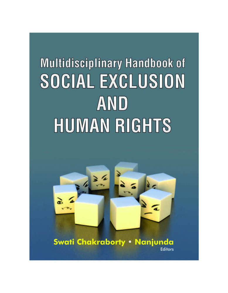 Multidisciplinary Handbook of SOCIAL EXCLUSION AND HUMAN RIGHTS