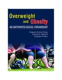 Overweight nd Obesity: An Anthropological Paramount