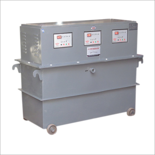 Three Phase Oil Cooled Servo Voltage Stabilizer