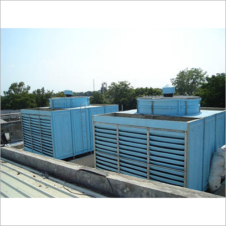Double Flow Cooling Tower