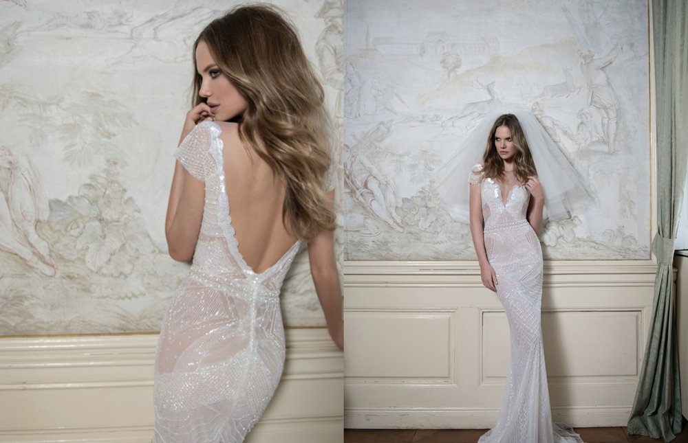 Haute Couture Embroidered Bridal Gown