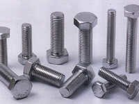SS Hex Screw And Hex Bolt
