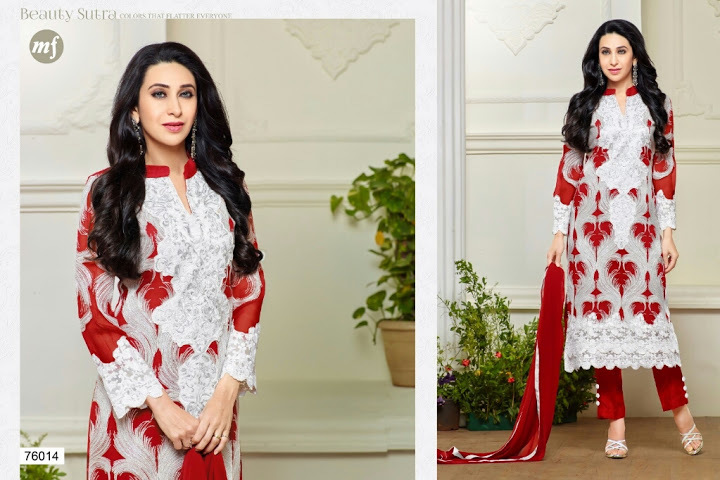 EMBROID 3--GEORGETTE EMBROIDERY SUIT