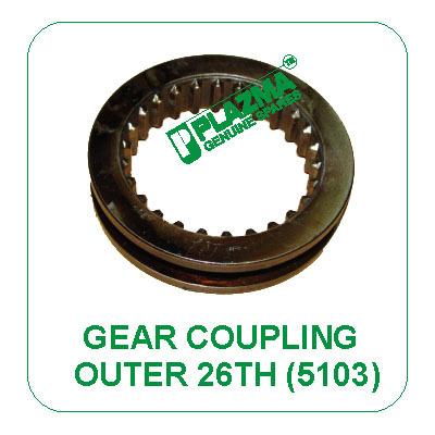 Outer Gear Coupling (26 Th.) 5103 John Deere
