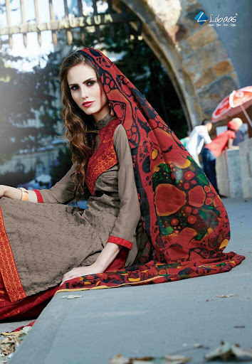 FIROZA--PURE COTTON EMBROIDERY SUIT