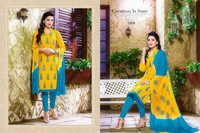 SHAHIDA--COTTON EMBROIDERY SUIT