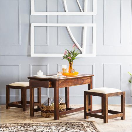 Sheesham Wood Coffee Table Set