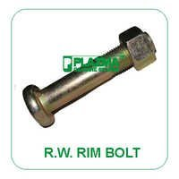 Rim Plate Bolt Green Tractor