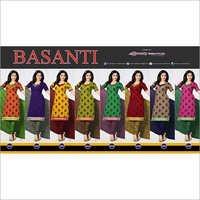 BASANTHI--COTTON PRINTED SUIT