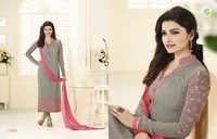 PRACHI 12--GEORGETTE EMBROIDERY SUIT