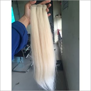 Single Drawn Blonde Hair