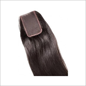 Lace And Silk Closure Human Hair